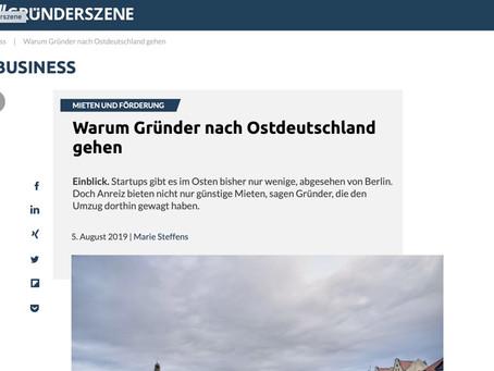 Warum Gründer nach Ostdeutschland gehen