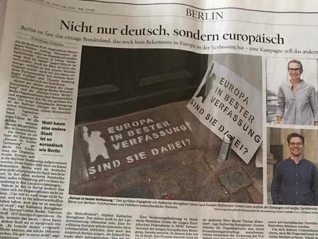 Nicht nur deutsch, sondern europäisch