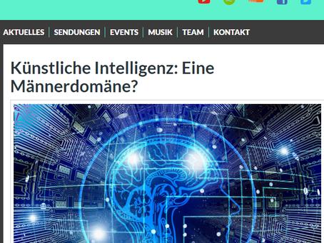 Zum Hören: Künstliche Intelligenz - eine Männerdomäne?