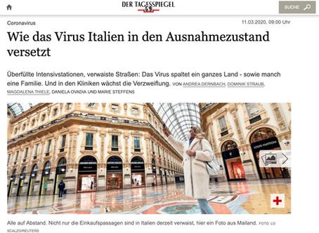Wie das Virus Italien in den Ausnahmezustand versetzt