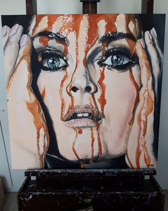 SaBa, paintings by Sanne