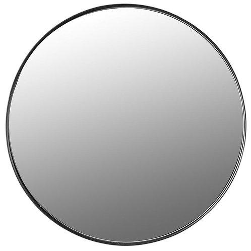 Large Nordic round mirror