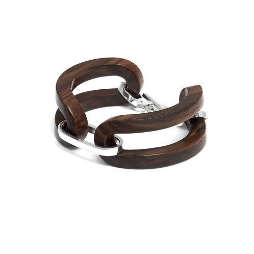 Branch Jewellery Rosewood Open Link Bracelet silver