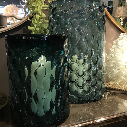 Handblown glass Aquila hurricane