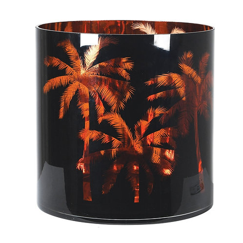 Palm tree hurricane jar