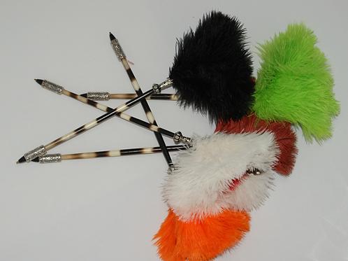 Ostrich and porcupine pen