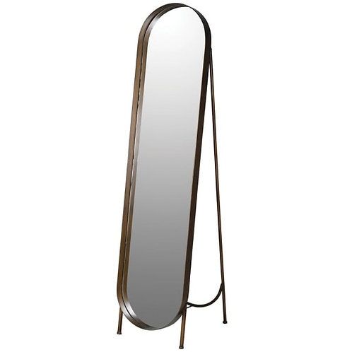 Oblong cheval dress mirror