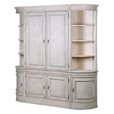 Nordic Gustavian large 6 door cabinet