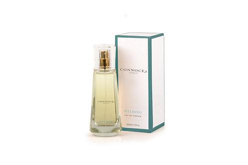 Connock London, Vittaveli, eau de parfum bottle and box