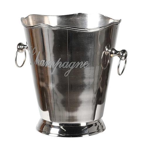 Nickel champagne cooler
