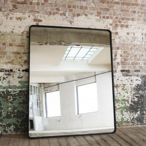 Oversized iron mirror