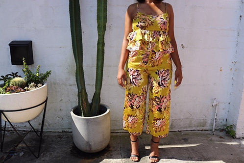 Floral Ruffle  Co-ord Set