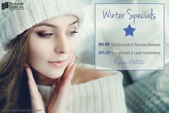 Winter Specials 2020 - Made with PosterM