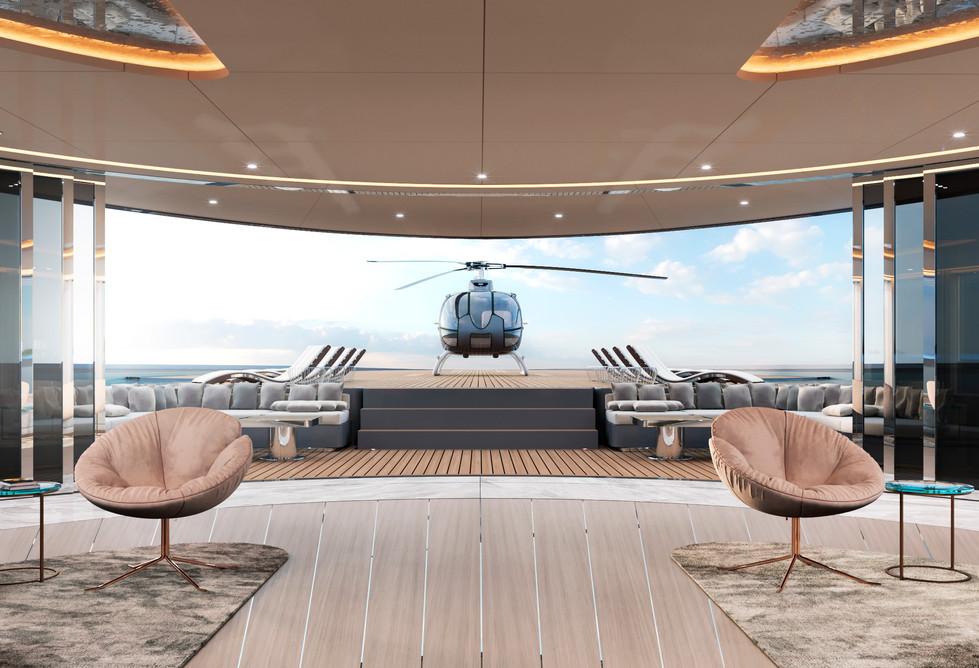 Superyacht Vitality Interior