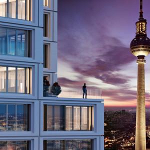 Alexander Tower Berlin Exterior