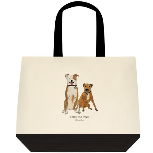 CUSTOMISED TOTE + PAWTRAIT PACK