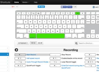Liens - Site web interactif pour raccourcis Pro Tools