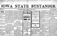 Iowa State Bystander 1904