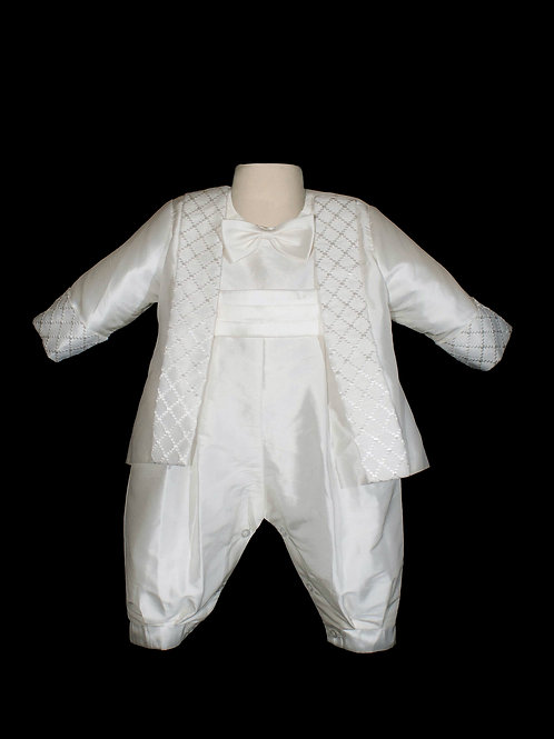 JACKSON Boy's Sweetie Pie Baptism Suit