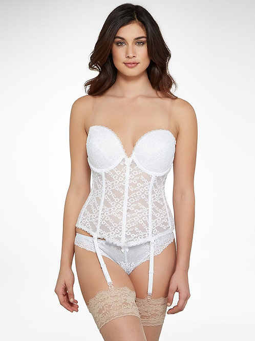 All Over Lace Deep Sweetheart Neckline Bridal