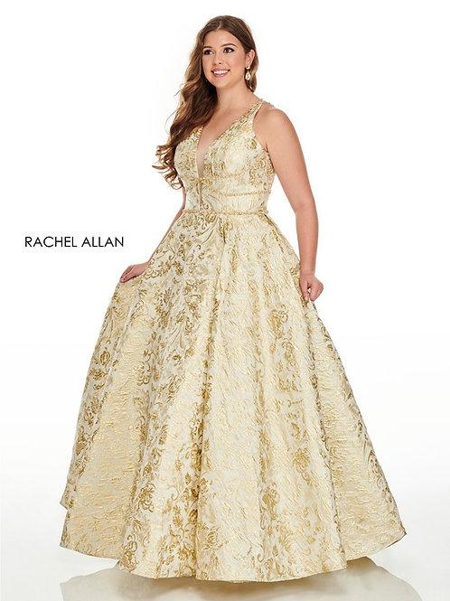 7226 Rachel Allen Plus Size Prom Dress