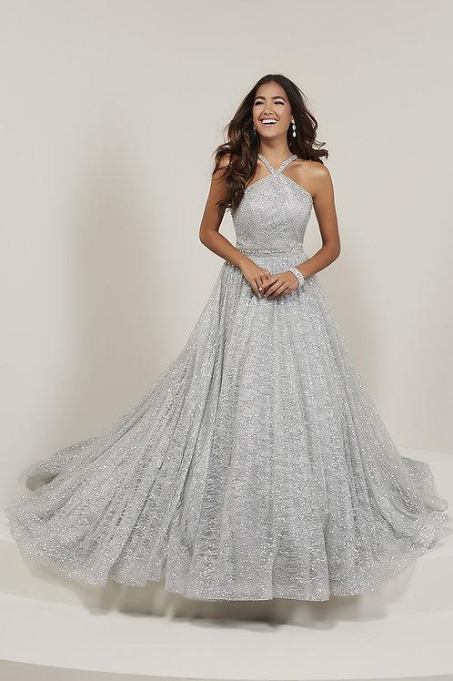 16352 Tiffany - Shimmering  Sparkling Halter Ball Prom Dress