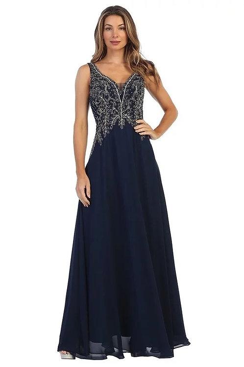 Sweetheart sequins Beaded Lace Chiffon Bridesmaid Dress