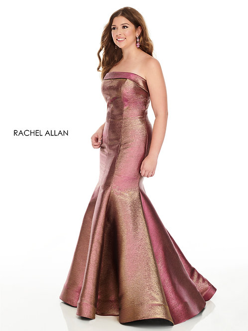 7231 Rachel Allen Plus Size Prom Dress