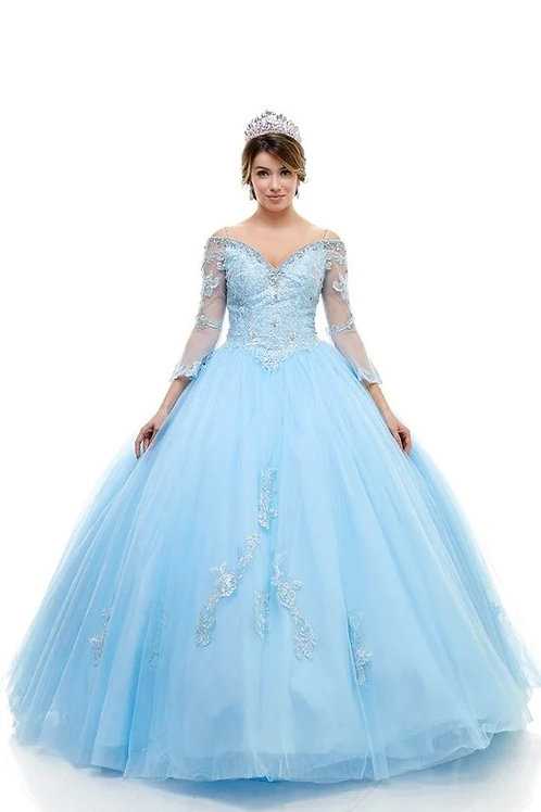 76661-XPQ Quinceanera Gown