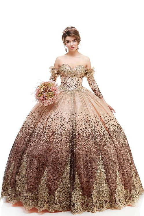 82096-XQ Quinceanera Gown