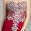 Thumbnail: Sweetheart Sheer Rhinestone Floral Lace Mermaid Prom Dress