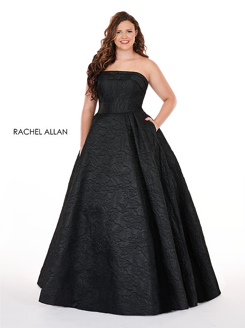 7241 Rachel Allen Plus Size Prom Dress