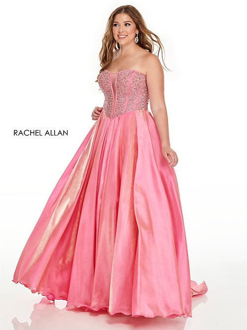 7236 Rachel Allen Plus Size Prom Dress