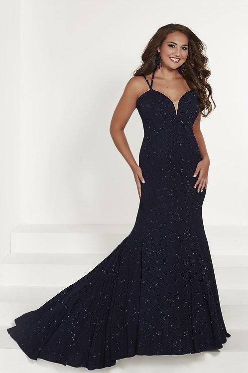 16387 Tiffany -   Sleeveless Double Spaghetti Strap Mermaid Prom Dress