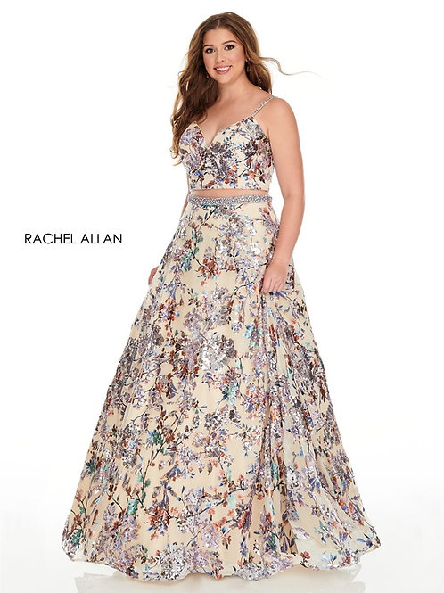7227 Rachel Allen Plus Size Prom Dress