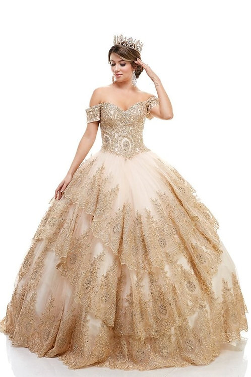 77109-XQ Quinceanera Gown