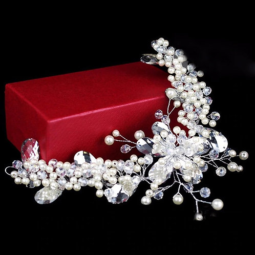 Crystal Vine Forehead Bridal Headpiece
