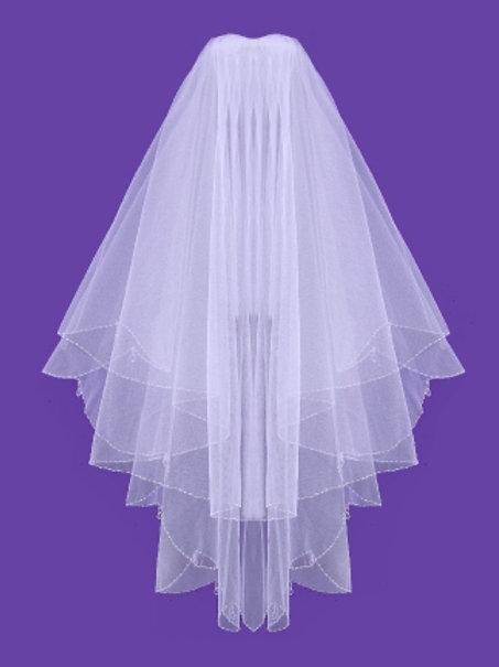 Veil V1035 Crystal Drop Edge