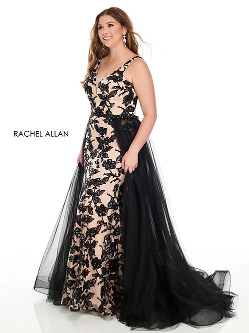 7228 Rachel Allen Plus Size Prom Dress