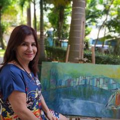 """Maria Stefanon: """"A arte nos torna mais humanos. Ela nos faz ver o invisível, sentir o que não é"""