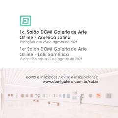 1o. Salão DOMI Galeria de Arte Online - América Latina
