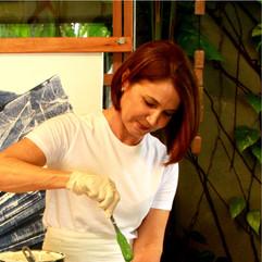 """Patricia Melro: """"A arte para mim é um ato de amor, é a busca pela transcendência, é onde encontro..."""