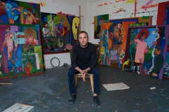 Andrew Salgado e seu trabalho carregado de significados