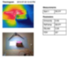 iPad comparison Thermogram 7