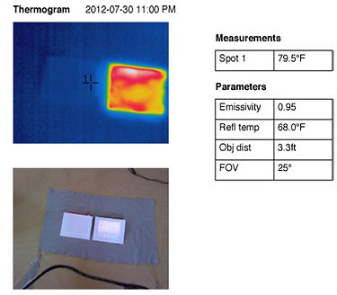 iPad comparison Thermogram 2