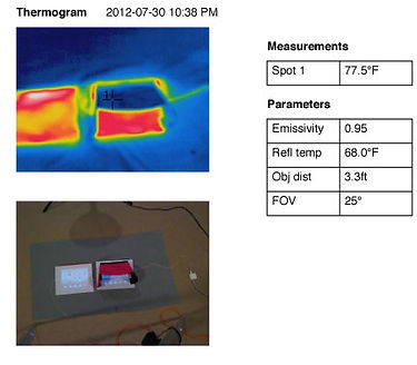 iPad comparison Thermogram 5