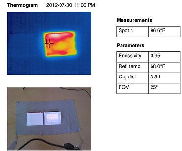 iPad comparison Thermogram 1