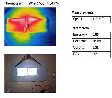 iPad comparison Thermogram 10