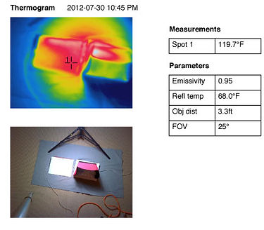 iPad comparison Thermogram 9