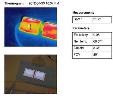 iPad comparison Thermogram 4